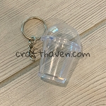 Cup Keychain w/ Hardware (Pack of 10)