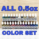 Jacquard Pinata Alcohol Ink 0.5oz Set (ALL COLORS)