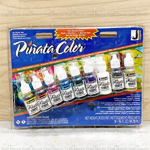 Jacquard Pinata Blue Starter Exciter Pack (Set of 9 0.5oz Bottles)